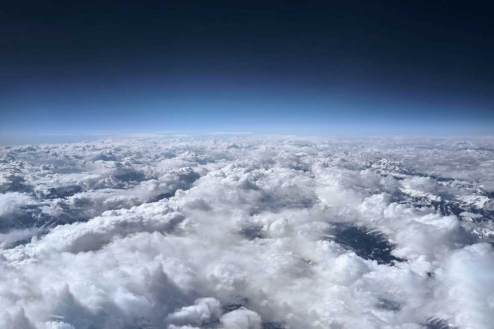 aerial photography of clouds formation during daytime